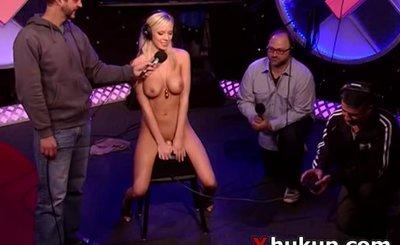 Sexy hot pornstar Bibi Jones interv
