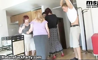 Several horny fat mature moms love part5
