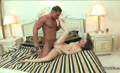 Stepson Caught Mom Masturbate and helps with his Dick