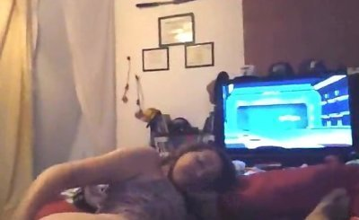 Teen Watches Cartoons And Fucks Her BF