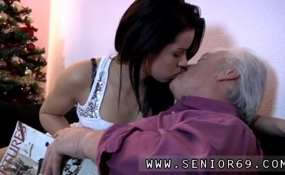 Teen first time doing anal Bruce a messy old dude loves to screw young