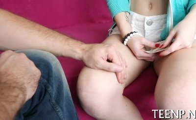 this agile horny girlie knows how to play with thick shafts