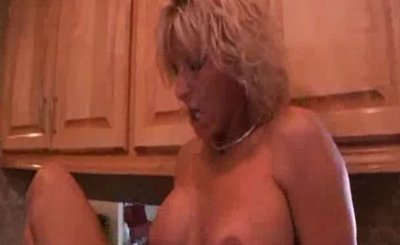 TJ Powers is a blonde haired MILF who is a nymp