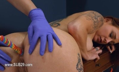 To much of rope and neat extreme BDSM submissive sex toone
