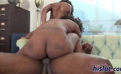 Two ebony sluts and two hard rods
