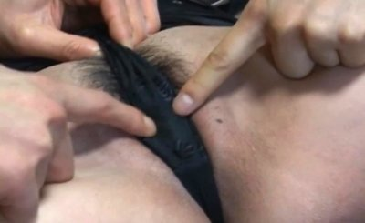 Unique Japanese whore masturbated