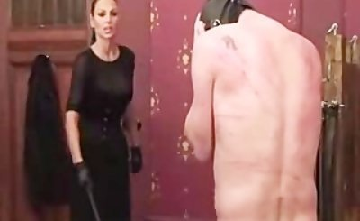 Whipping bdsm bondage slave femdom domination