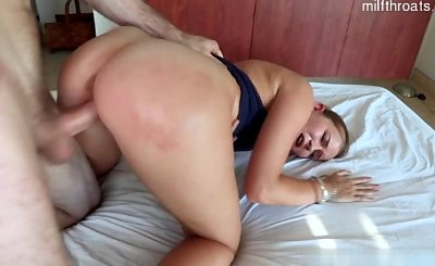 Young pornstar extreme anal sex