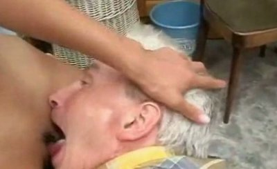 Young Asian Chick Fucked By Old Man